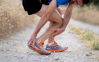 Восстановление после растяжения икроножной мышцы