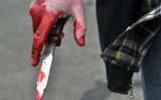 Оказание первой помощи при ножевом ранении