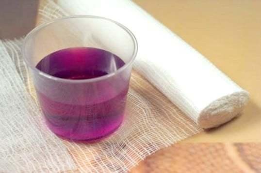 Раствор марганцовки для обработки ран: как развести