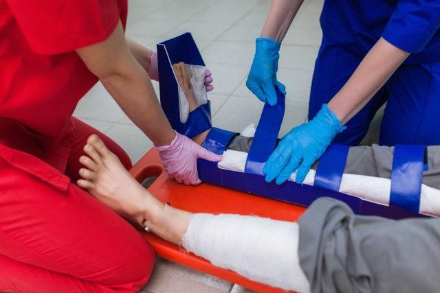 Перелом кубовидной кости стопы