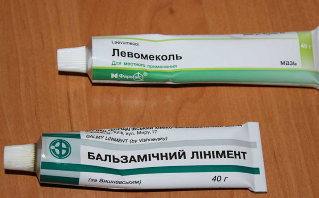 Левомеколь мазь: инструкция по применению при ранах