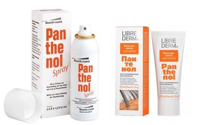 Спрей Пантенол от ожогов: состав и инструкция к применению