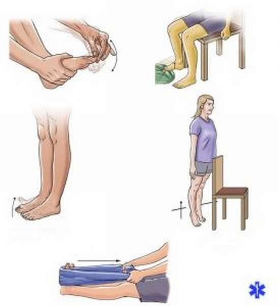 Перелом мизинца на ноге симптомы