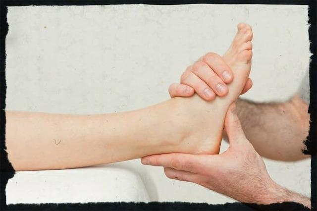 Вывих стопы: первая помощь, лечение,реабилитация
